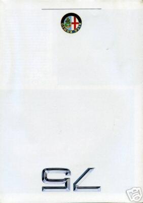 Publicité alfa 75