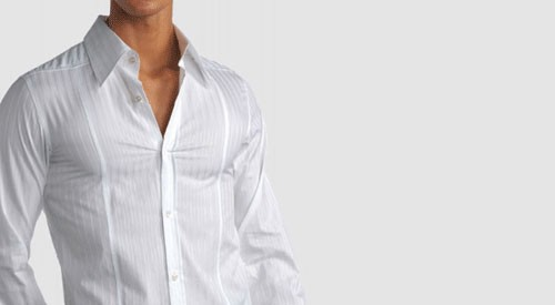 Chemise blanche italienne