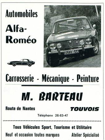 Histoire de la Sa Barteau